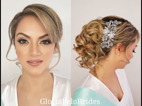 Look Natural Makeup Hair Wedding Bride Maquillaje Peinado Novia