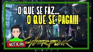 CYBERPUNK 2077 IRÁ EXPLORAR AÇÃO E REAÇÃO!!!