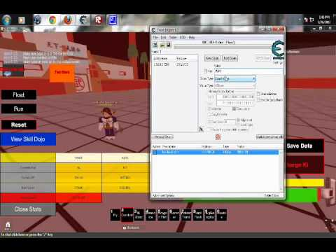 Roblox Cheat Engine Tutorial Dragonball Roblox Youtube
