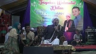 Ceramah KH Salimul Apip bersholawat Cikjing