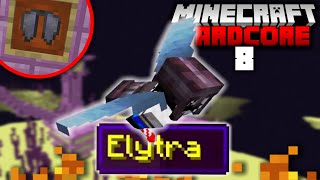 I Found the Elytra in Hardcore Minecraft! (#8)
