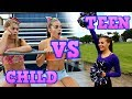 Child You VS Teen You: CHEERLEADING!