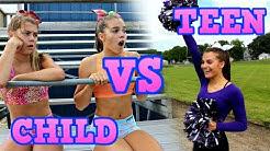 Child You VS Teen You: CHEERLEADING!