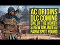 Assassin's Creed Origins DLC COMES END OF THE MONTH + New Loot Spot Found (AC Origins DLC)