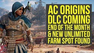 Assassin's Creed Origins DLC COMES END OF THE MONTH + New Loot Spot Found (AC Origins DLC)