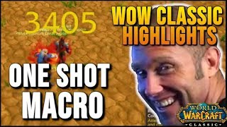 WoW Classic Highlights Part 6 - World of Warcraft Vanilla Best Moments