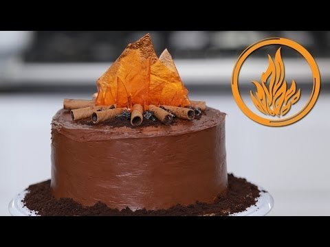 Generate DIVERGENT DAUNTLESS CAKE - NERDY NUMMIES Pictures