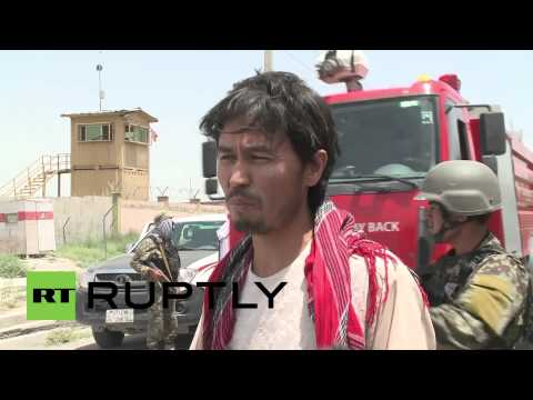 Afghanistan: Taliban attack sets Kabul airport ablaze