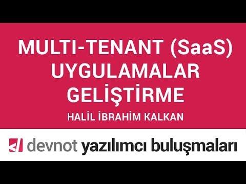 Multi-tenant (SaaS) Uygulama Geliştirme
