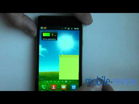 Samsung Galaxy SII - Music Player, Music Hub Demo