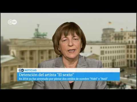 Parlamentaria alemana preocupada por Danilo Maldonado