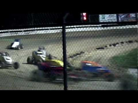 Bad Wreck at Bubba's Raceway Ocala FL
