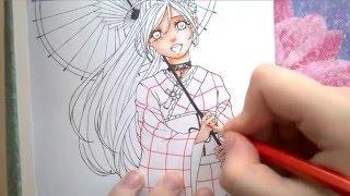TUTORIAL| Akashia Moka|how to draw anime