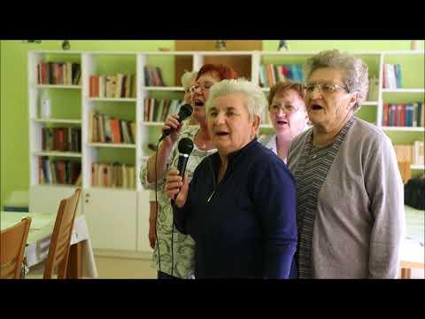 Karaoke party az idősek otthonában