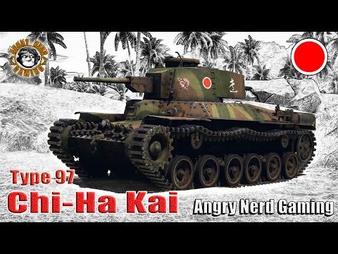 "War Thunder: Type 97 ""Chi-Ha Kai"", Japanese, Tier-1, Medium Tank"