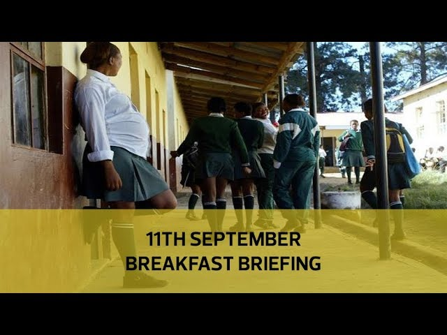 Teachers risk jail over teen mums | State targets Mau big fish: Your Breakfast Briefing
