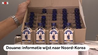NOORD-KOREA: 90.000 flessen wodka onderschept, mogelijk voor Kim Jong-un