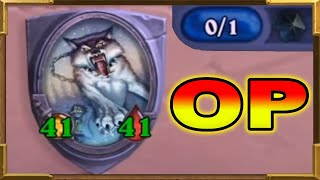 Hearthstone: Turn 1 One Mana 41/41 Charge | This Is Broken | SPECIAL | DOOM IN THE TOMB Tavern Brawl