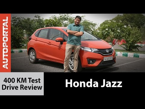 Honda Jazz 400 KM Test Drive Review -Autoportal