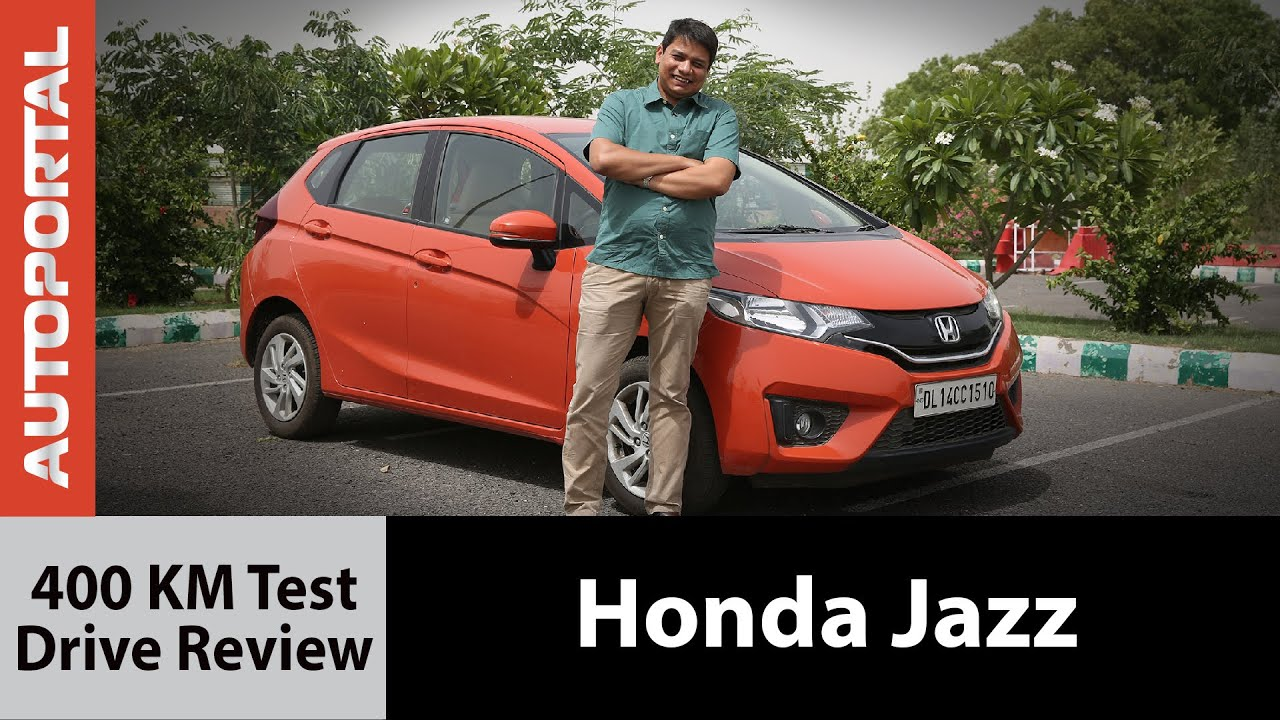 honda jazz 400 km test drive review autoportal youtube. Black Bedroom Furniture Sets. Home Design Ideas