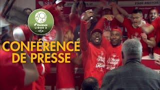 Conférence de presse Stade Brestois 29 - Chamois Niortais ( 3-0 )  / 2018-19