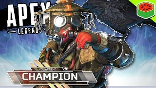 WORLD'S CRAZIEST WIN!?   Apex Legends (Titanfall Battle Royale)