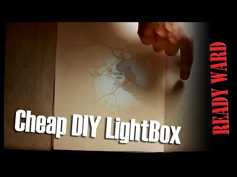 Cheap DIY LightBox - Ready Ward