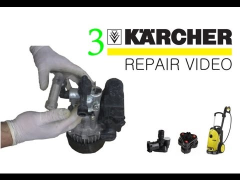 How To Fix A Karcher Pressure Washer Spary Gun Doovi