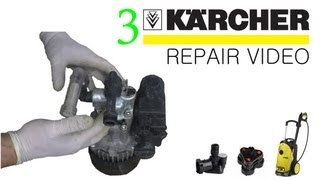 How to FIX a Karcher pressure washer Part 3