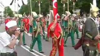 Ottoman Military Band Mehter In Russia