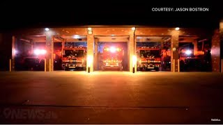 This fire department synced their trucks to Christmas music (again)