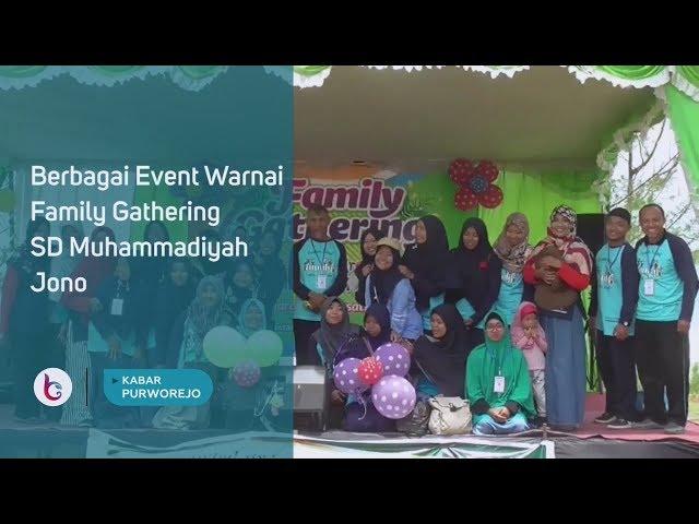 Berbagai Event Warnai Family Gathering SD Muhammadiyah Jono