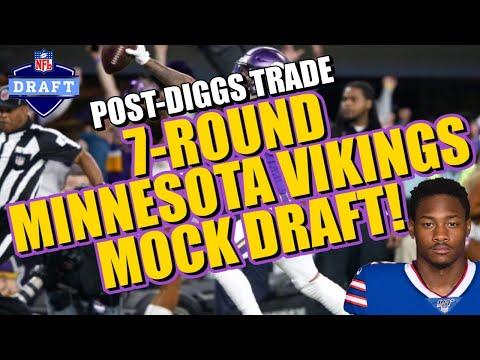 Post-Diggs Trade 7-Round Vikings Mock Draft!