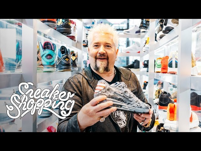 Guy Fieri Goes Sneaker Shopping with Complex