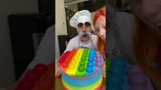 ОГРОМНЫЙ ТОРТ POP It ДОБАВЛЯЙ Неаа ЗАБИРАЙ Shorts