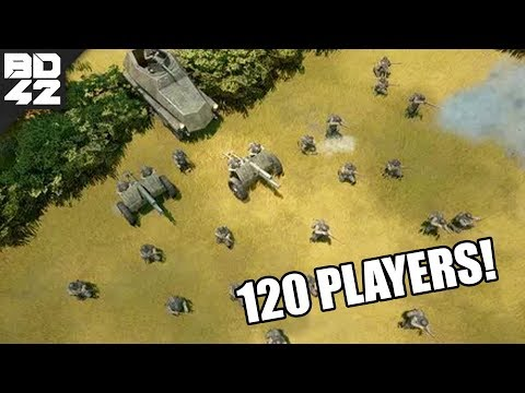 120 PLAYER BATTLES! Tank Patrol in Foxhole Early Access! (Ft. BaronVonLetsPlay)