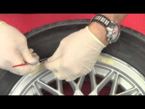 Repairing curbed:scraped alloy wheels on BMWs and MINIs