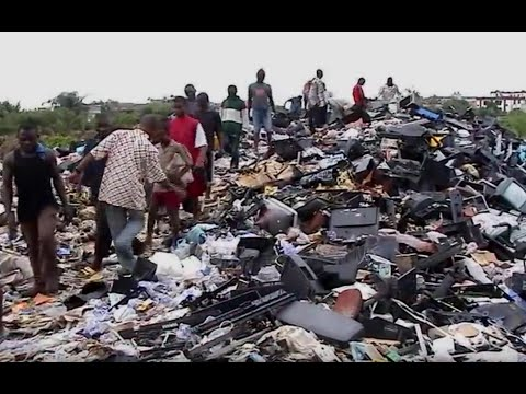 The Digital Dump, Illegal Electronics Waste Trade Documentary In Nigeria
