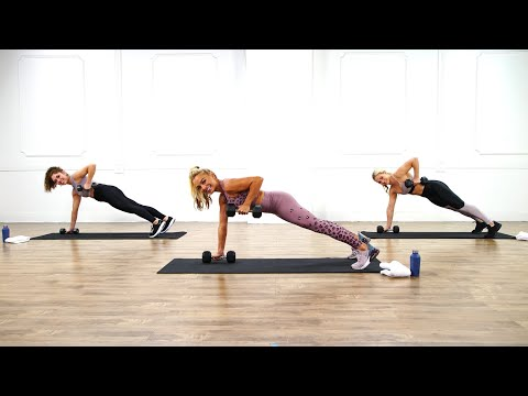 15-Minute Full-Body Strength-Training Workout