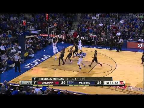 Cincinnati Bearcats vs  Memphis Tigers  -  January 15, 2015