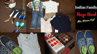 Indian Family Haul | Clothing, Makeup, Footwear | Preparing For The Big Day | Real Homemaking
