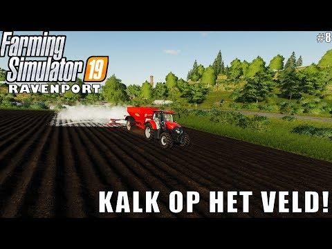 'KALK OP HET VELD!' Farming Simulator 19 Ravenport #8