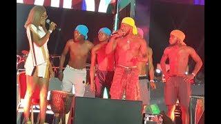 Check-Out Broda Shaggi's Hilarious Performance At Davido's Concert That Has Got Everyone T