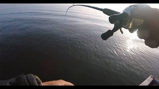 ЧУТЬ НЕ СЛОМАЛ СПИННИНГ, ОБ КОЛЕНО))) 12:2. Рыбалка на спиннинг.