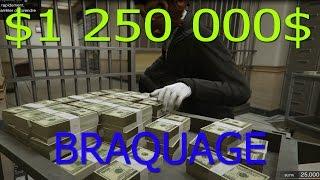 1 250 000$ AU VENT - Dernier Braquage - Gta 5