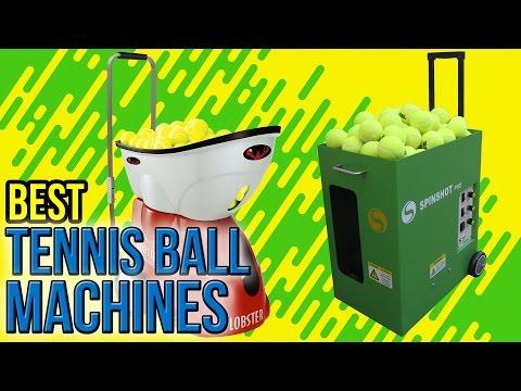 8 Best Tennis Ball Machines 2017