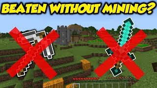 Tested: Can You Beat Minecraft Without Mining / Hitting?