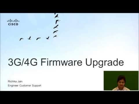 Upgrading 3G 4G Modem Firmware