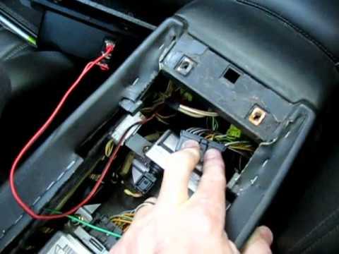 Jaguar XK8 Antenna Switch - YouTube