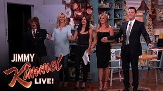 "Download Jennifer Aniston, Courteney Cox, Lisa Kudrow and Jimmy Kimmel in ""Friends"" Mp3 and Videos"